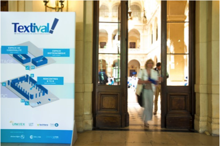 forum textile Lyon Textival - Valence Services