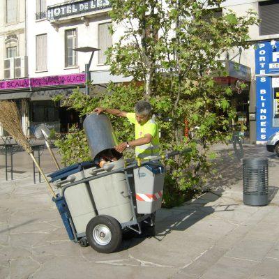 Propreté urbaine - Valence Services - Aide Collectivités et insertion emploi